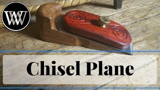How to Make a Chisel Plane WoodWorking Hand Tool Project