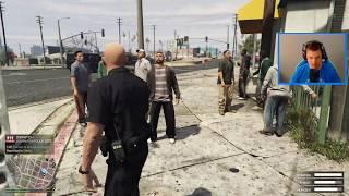 WORST CRIME IN GTA 5 INSTANT 5 STARS!!! GTA 5 Cop Roleplay (GTA 5 Mods)