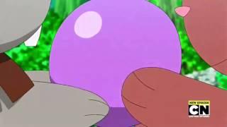 Pokemon XYZ Episode 21 Dub Bunnelby X Buneary Moments