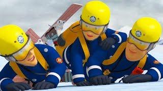 Fireman Sam New Episodes   Lights, Camera, Avalanche!   Best Fire Rescues 🔥 Cartoon for Children