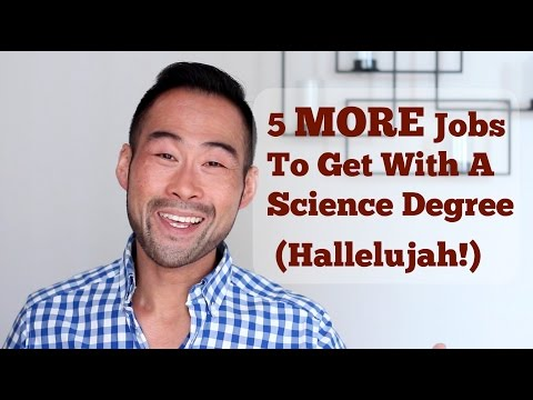 5 MORE Jobs You Can Get With A Science Degree That You Still Don t Know About