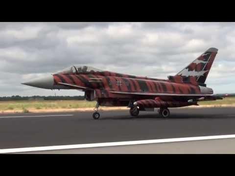Arrivals Second Wave NATO Tigermeet Spottersday Schleswig-Jagel 23-06-2014
