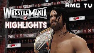 WWE 2K16 - WrestleMania 31 Highlights