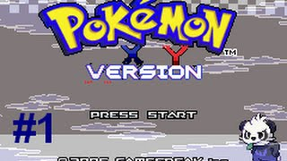 Pokemon XY GBA - Part 1 - Choosing Our Starter