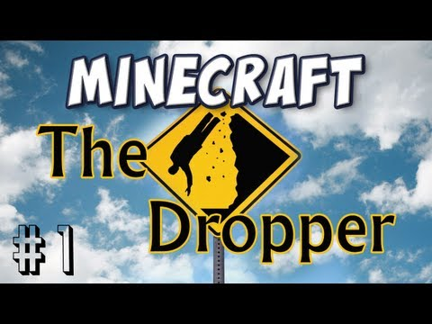 Minecraft The Dropper Part 1 Strap Yourself In