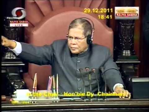 Rajya Sabha:  Debate on Lokpal & Lokayukta Bill, 2011:  Sh. Ram Jethmalani: 29.12.2011