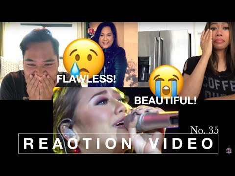 MORISSETTE AMON  never enough & wind beneath my wings (live at laguna) REACTION VIDEO No. 35