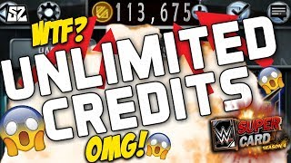 OMG HOW TO GET UNLIMITED CREDITS WWE SUPERCARD!! 😱 GREATEST LIFE HACKS NEVER FAILS!!
