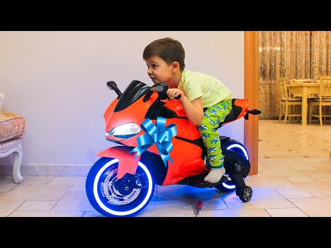 Xxx Mp4 Surprise Toy Unboxing Power Wheels Ride On Sportbike Family Fun Playtime Toys Video For Kids 3gp Sex