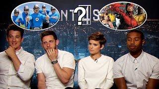Fantastic Four Cast Plays