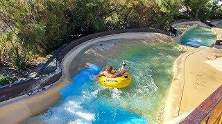 Aquopolis Costa Daurada - Rapids | White Water Canyon Ride Onride POV