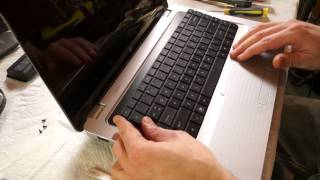 How to replace a laptop keyboard