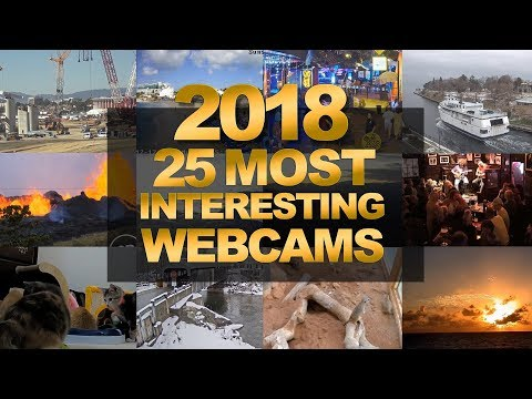 Xxx Mp4 EarthCam's 25 Most Interesting Webcams Of 2018 3gp Sex