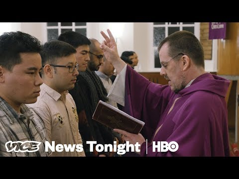 Xxx Mp4 Germany Accuses Muslim Migrants Of Converting To Christianity To Get Asylum HBO 3gp Sex