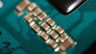 طريقة سهلة لاستبدال المكثفات السيراميكية-An easy way to replace ceramic capacitors