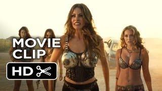 Machete Kills Movie CLIP - Car Chase (2013) - Danny Trejo Movie HD