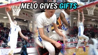 LaMelo Ball GIVES AWAY SHOES During The Game! Drops 25 Points & Plays Incredible DEFENSE!?!?