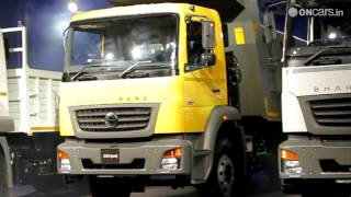 Bharat Benz launches the 2523 and 3123 range of trucks