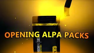 OPENING ALPHA PACKS - Tom Clancy