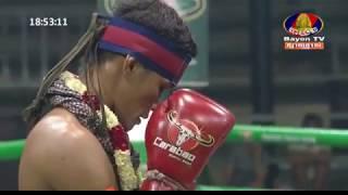 Proeung Socheat, Cambodia Vs Khumpichit, Thai, Khmer Boxing 7 october 2018