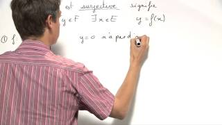 Exercice 4 (Injection, surjection, bijection) [00190]
