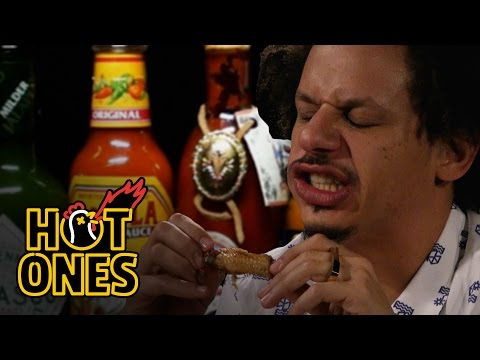 Eric Andre Turns Into Tay Zonday While Eating Spicy Wings Hot Ones