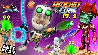 Lets Play RATCHET & CLANK #2: War Bots Bot Wars Escape & ALLIANCE! (FGTEEV PS4 2016 Movie Gameplay)