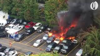 Explosion and fire erupt at Portland food cart pod
