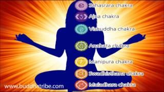 Chakra Music & Chakra Healing Stones Meditation Relaxing Sounds