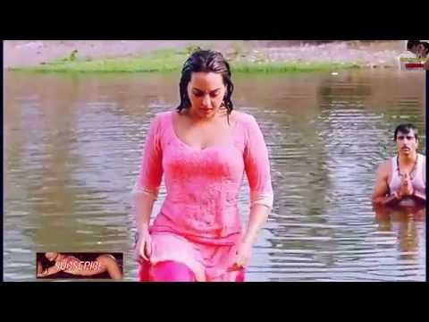 Akira Full Movie Actress Sonakshi Sinha Super Hot Wet Body Show Too Hot Latest Sensual Release 2016