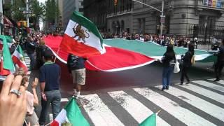 Persian Nowruz parade NY 2012  Iran