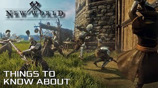 Amazon's New World. Sandbox MMO Survival Fantasy Game Large Scale PvP Fights | Things to know about