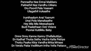 Theri song lyrics chella kutty Vijay - Samantha - Amy jackson