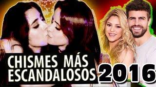 Los Chismes Más Escandalosos de Latinos del 2016 (Lo Mejor De Ayer)