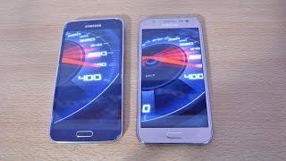 Samsung Galaxy J5 vs Galaxy S5 - Speed Test HD