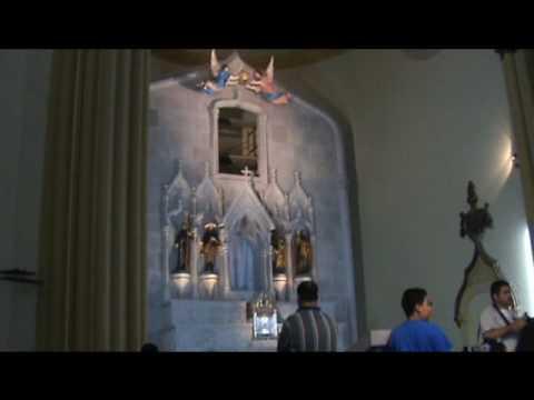 CHAVINDA MICH. La virgen de Guadalupe en su nuevo altar