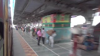 Destroyed In Seconds ! 12931 Double Decker Superfast Ac Express Devastating Railway Stations !!!
