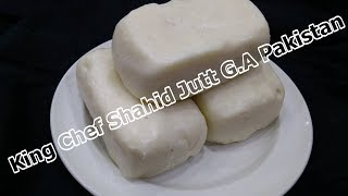 Shortly ghee and Puff pastry  (King Chef Shahid Jutt G.A Pakistan)