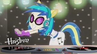 MLP: Equestria Girls - Rainbow Rocks - Who is DJ Pon-3?
