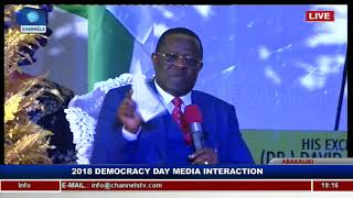 It Will Be Difficult For Nigeria To Develop Without Tackling Corruption – Umahi