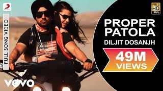 Download Diljit Dosanjh - Diljit Dosanjh Proper Patola feat. Badshah Full Video ft. Badshah 3Gp Mp4
