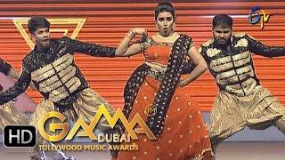 Hari Teja Dance Performance in ETV GAMA Music Awards 2015 - 6th March 2016
