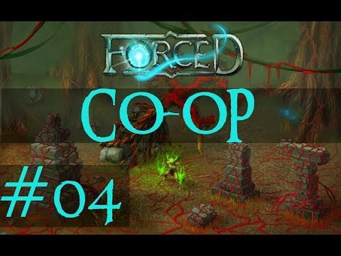 FORCED (Co-op) Walkthrough - #4 Pong