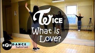"Twice ""What is Love?"" Dance Tutorial (Chorus)"
