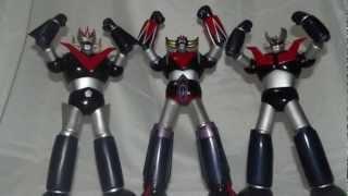 "Mazinger-Z, Great Mazinger, Grendaizer 12"" Figure Collection"
