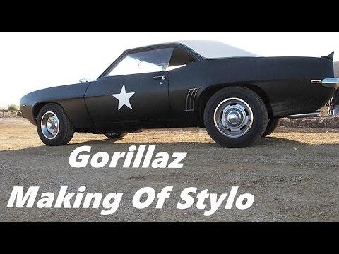 Gorillaz Making of Stylo