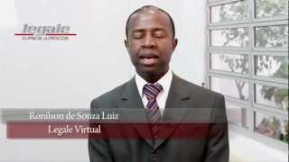 Legale Virtual a partir de 2013 !!! - Prof. Ronilson de Souza Luiz