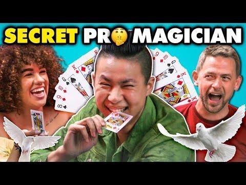 Undercover Magician SURPRISES Regular People React