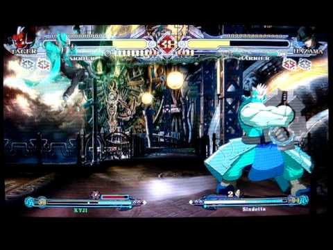 Kyji (Tager) vs Sindetta (Hazama)