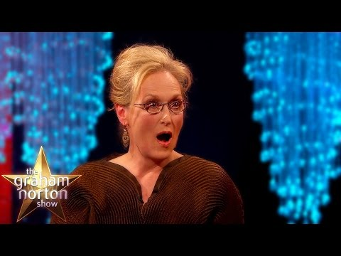 Meryl Streep 'Not Pretty Enough' To Be In King Kong The Graham Norton Show